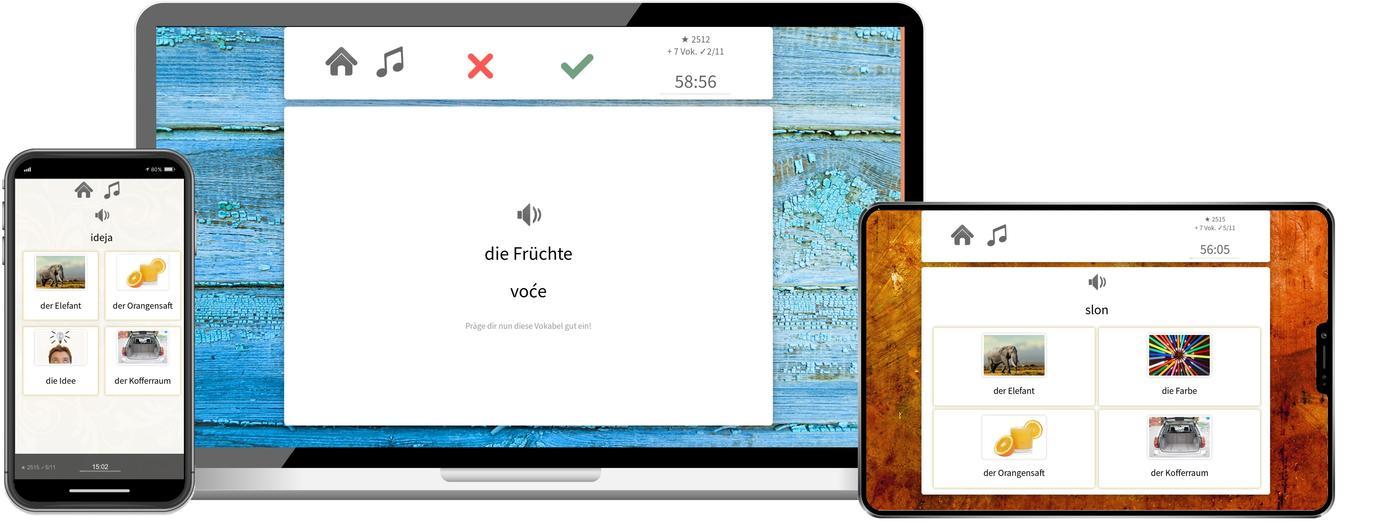 Bosnisch online lernen mit app
