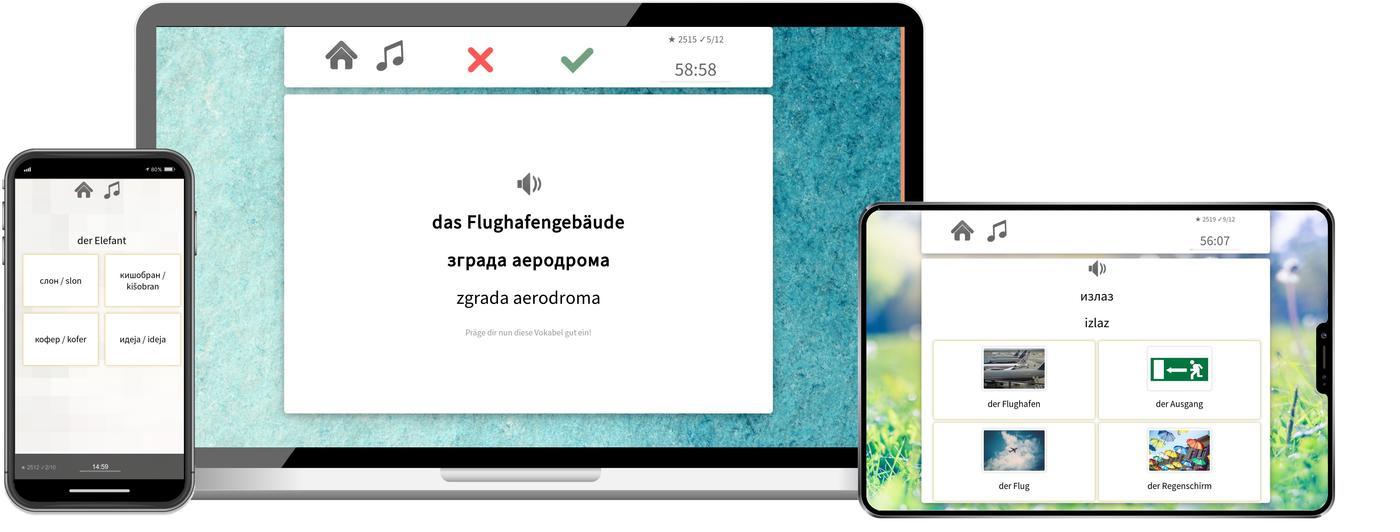 Serbisch online lernen mit app