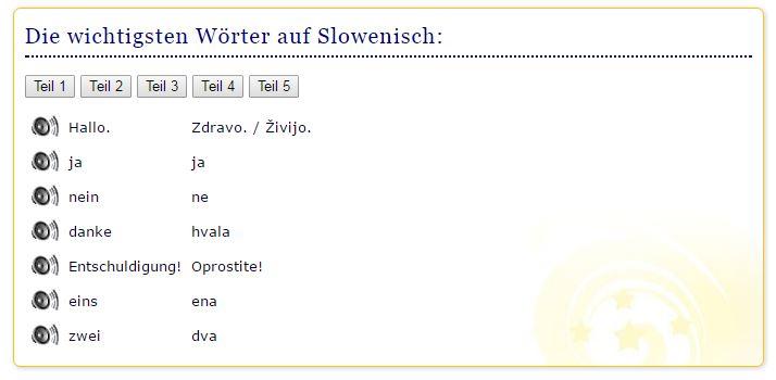 Slowenisch Vokabeltrainer Für Anfänger Und Anfängerinnen
