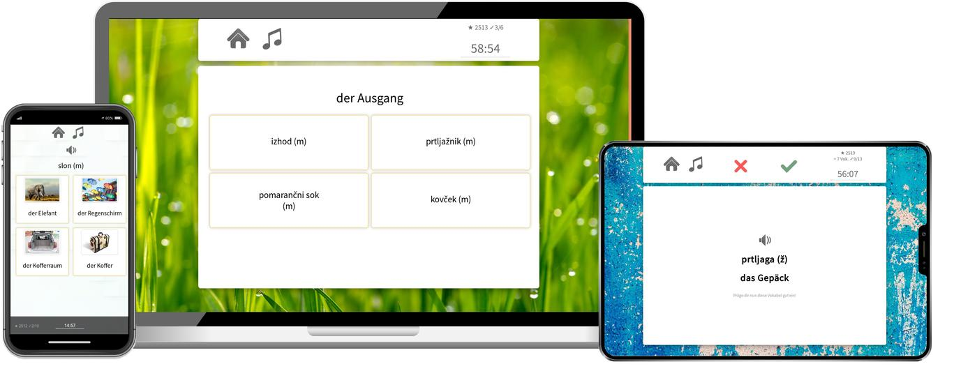 Slowenisch online lernen mit app