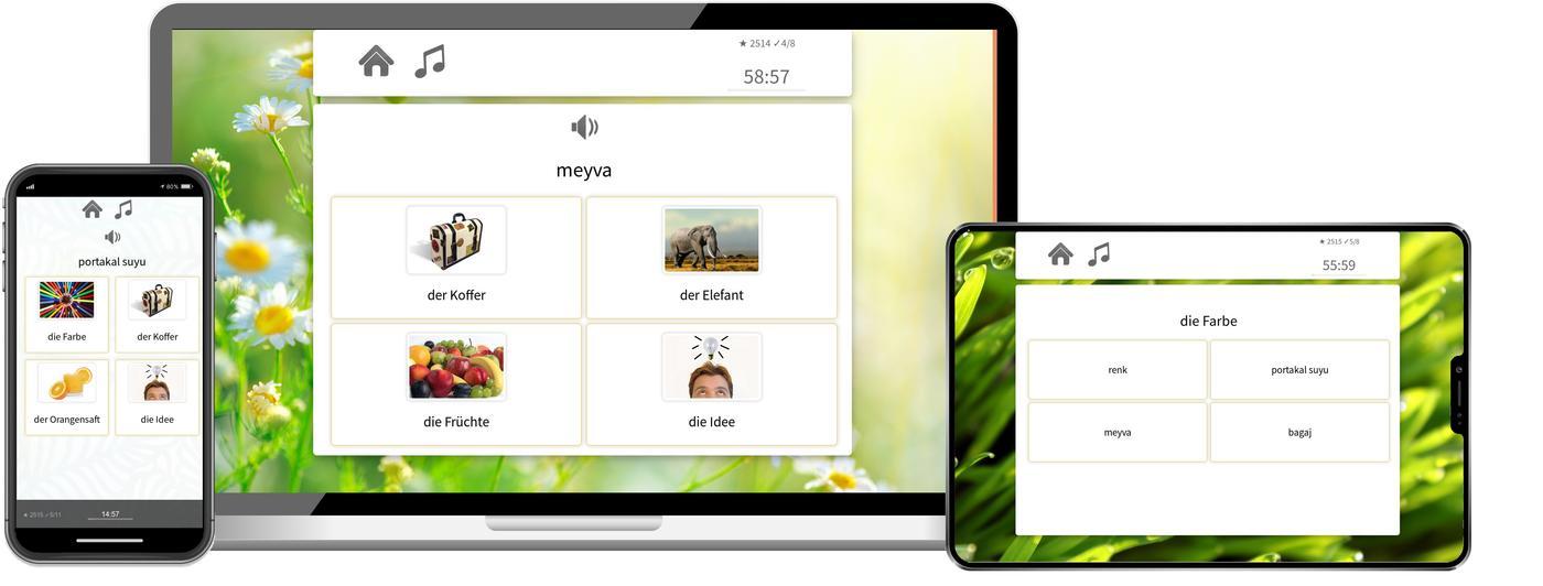 Türkisch online lernen mit app