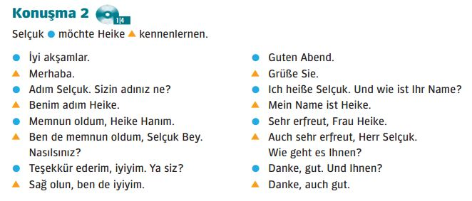 Danke auf deutsch auf türkisch